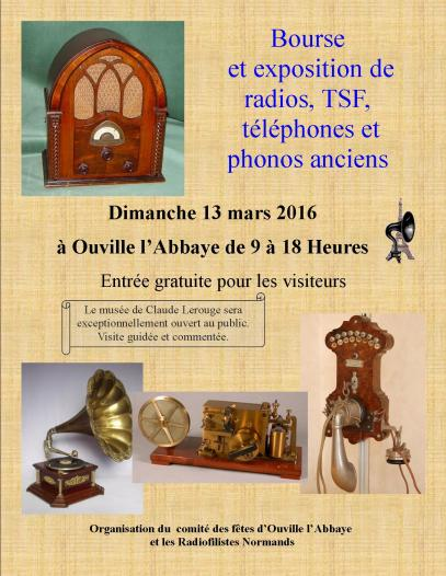 Bourse à Ouville l'Abbaye  13 mars 2016