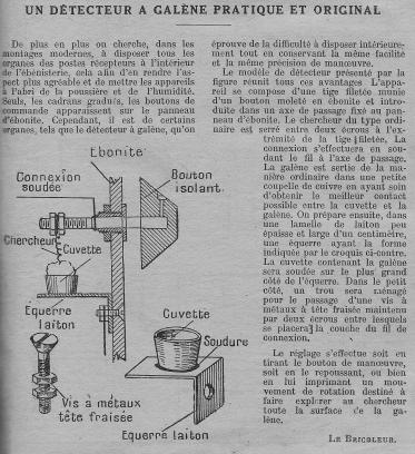 Système D Poste à galène