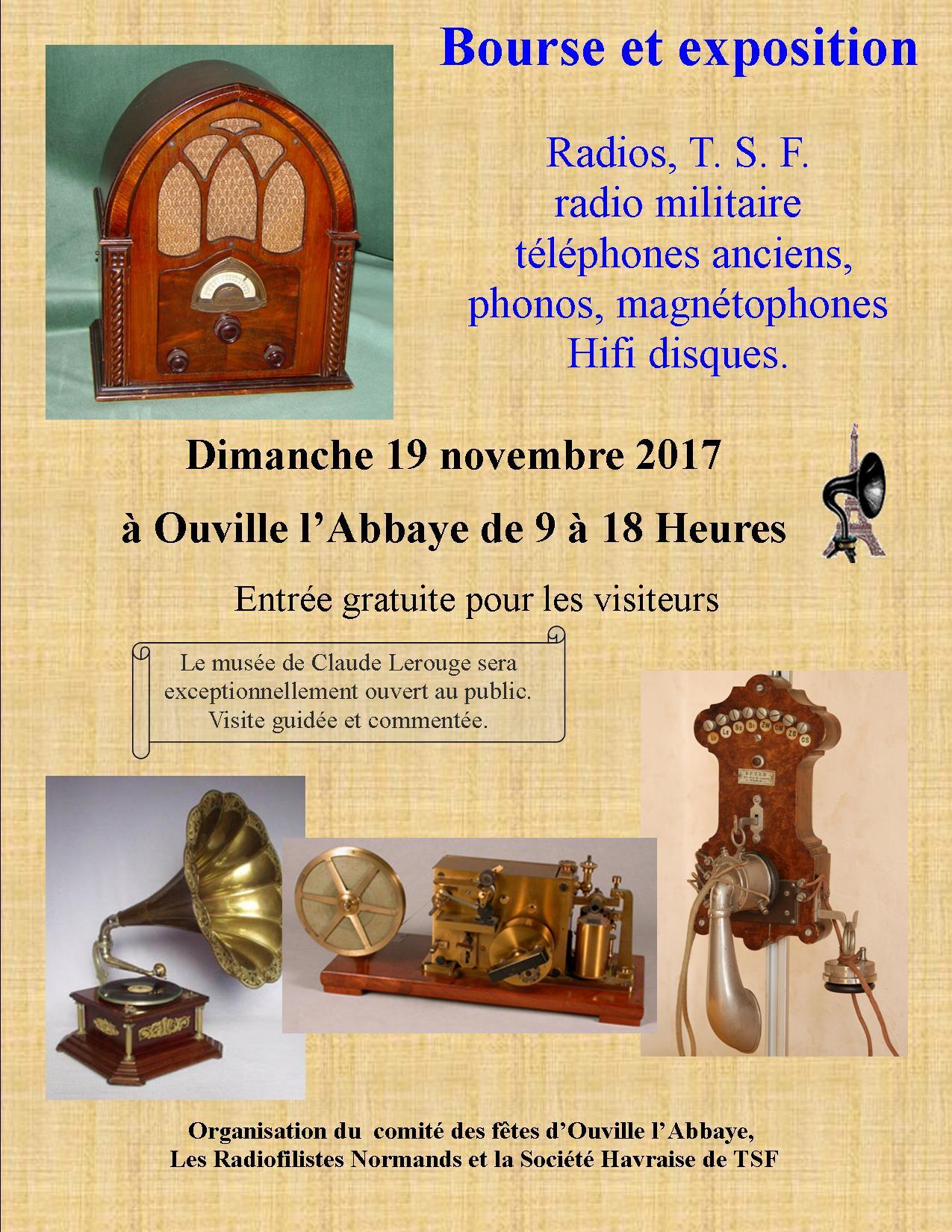 Bourse à Ouville l'Abbaye 19 novembre 2017